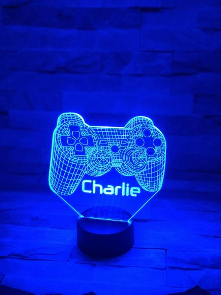 LED Night Light Game controller (PS4) 1