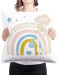 Born In Lockdown 2021 Cushion (Pink and Blue Options) 2