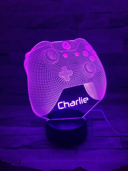 LED Night Light Game Controller (Xbox) 1