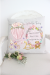 New Baby Girl Personalised Gift Cushion 2